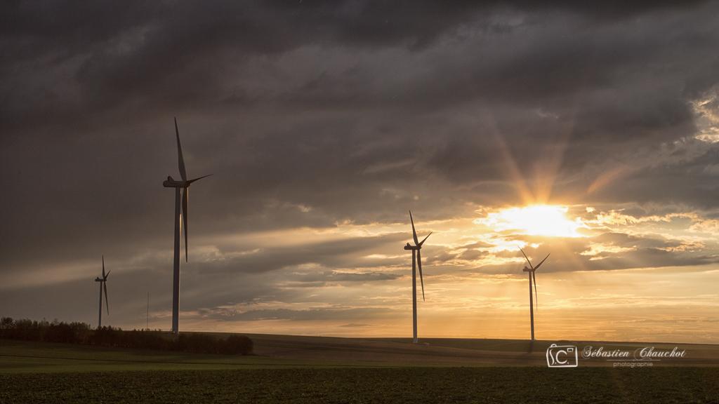 Fin de reportage sur les chantiers éoliens ENGIE