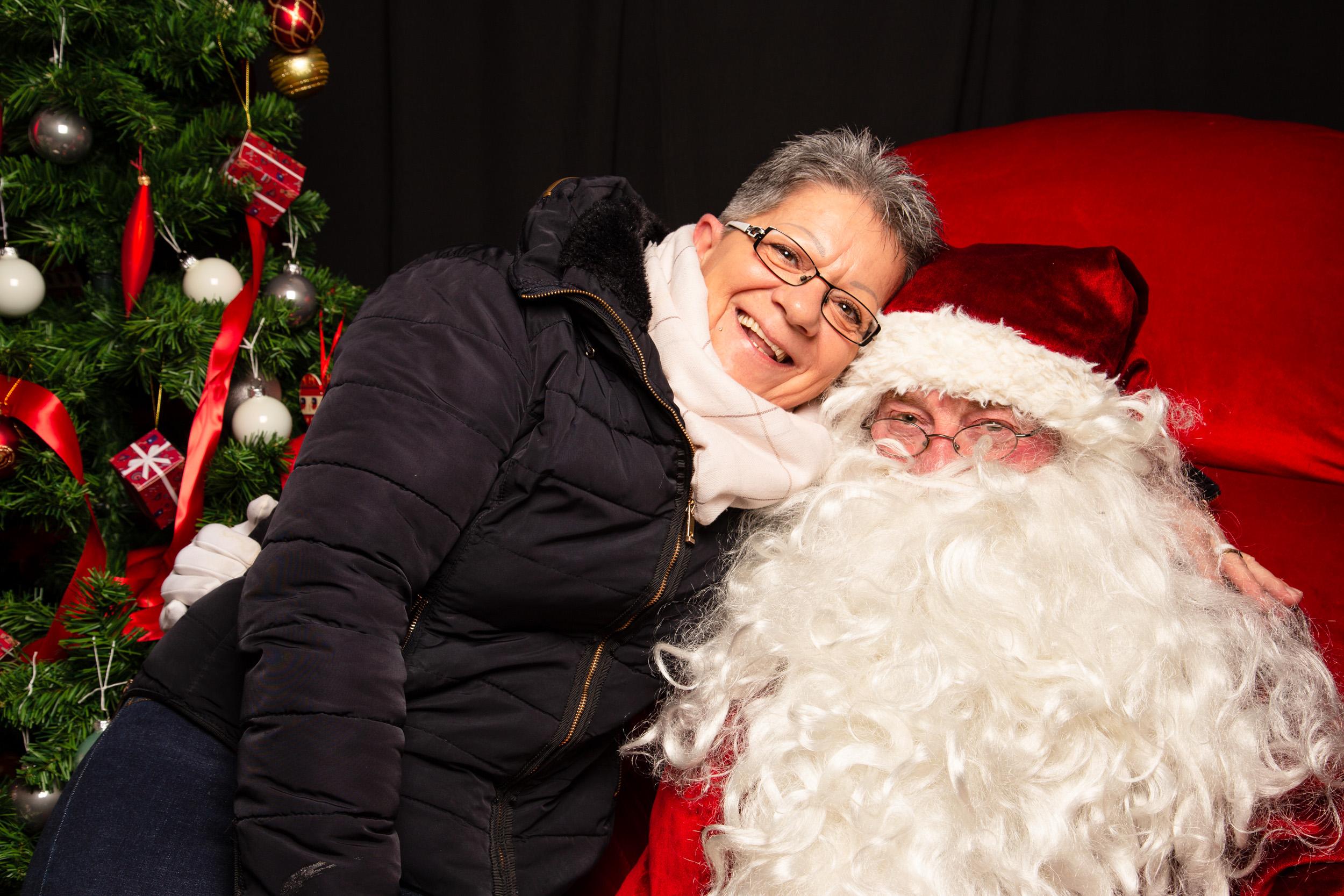Portraits avec le Père Noël