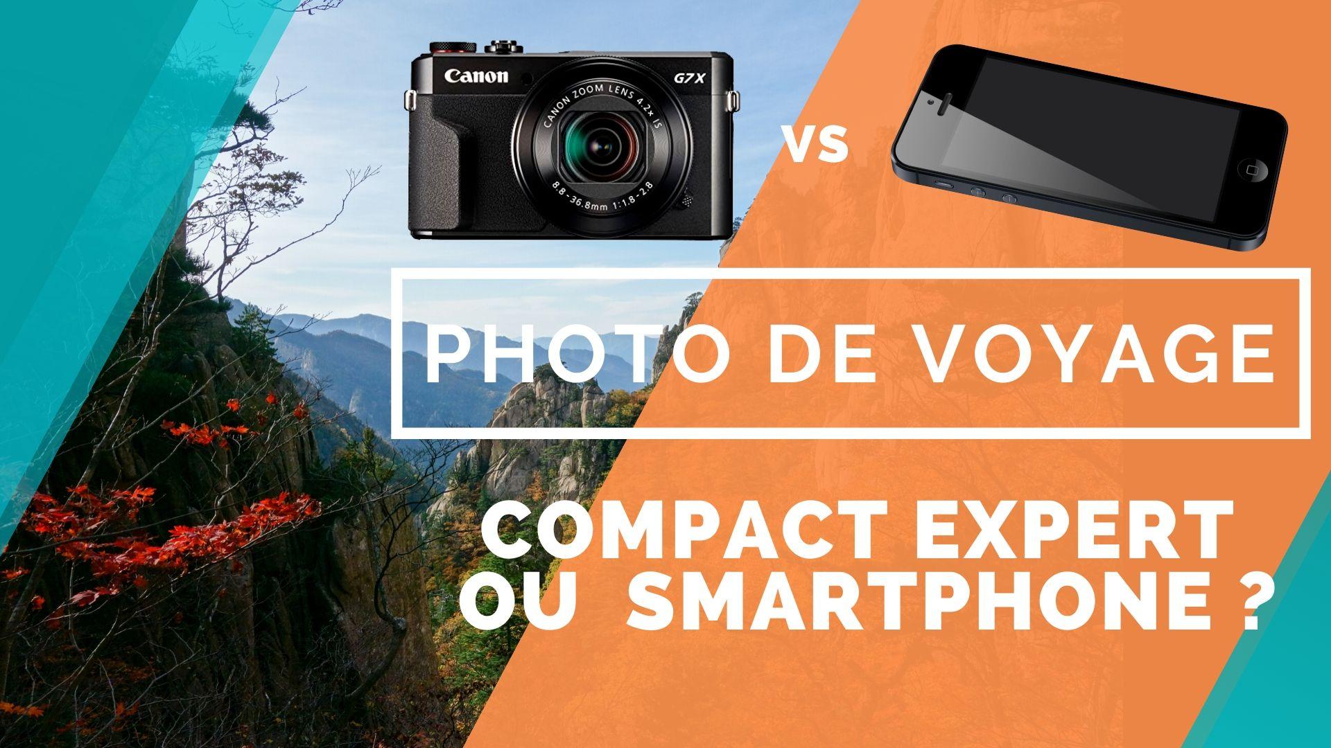tuto compact vs smartphone